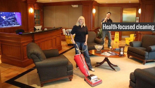 Organized Maintenance Service Commercial Janitorial Services